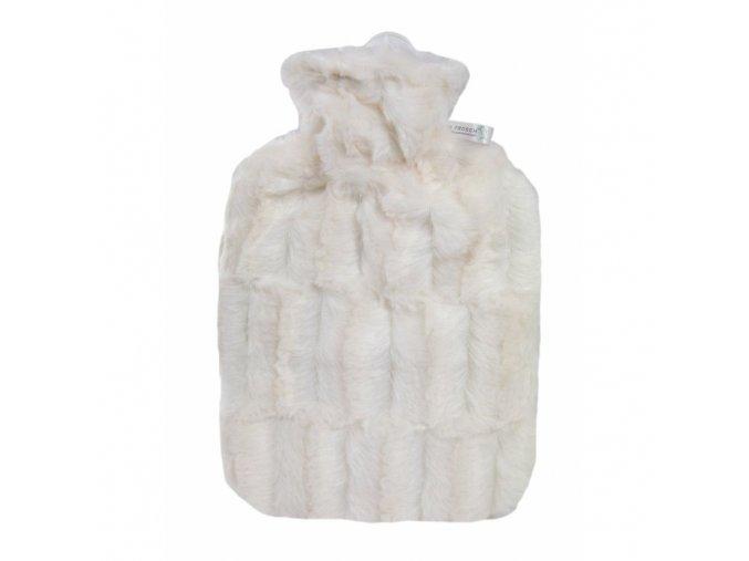 Termofor Hugo Frosch s obalem z umele kozesiny bily 0567 3