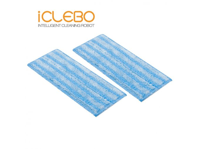 iClebo mop z mikrovlákna Home, Smart (2ks)