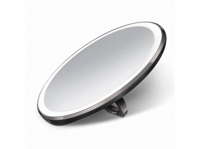 16475 kapesni kosmeticke zrcatko simplehuman sensor compact led osvetleni dobijeci 3x cerne