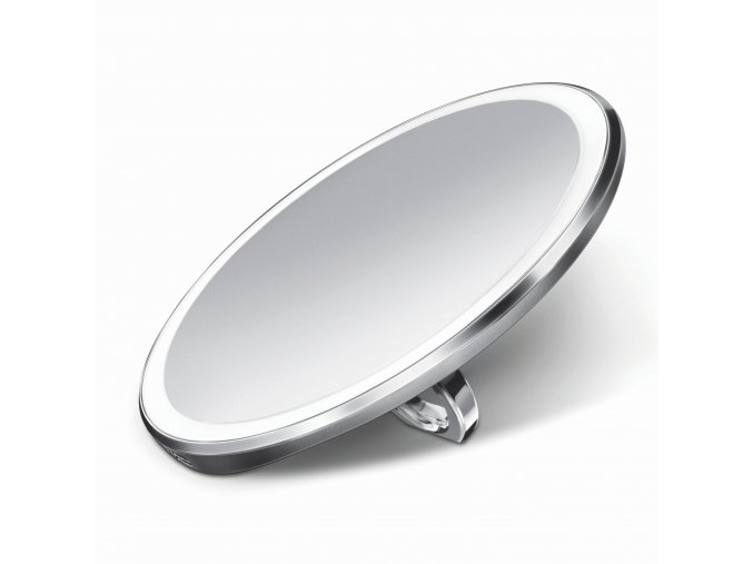 16472 kapesni kosmeticke zrcatko simplehuman sensor compact led osvetleni dobijeci 3x nerez