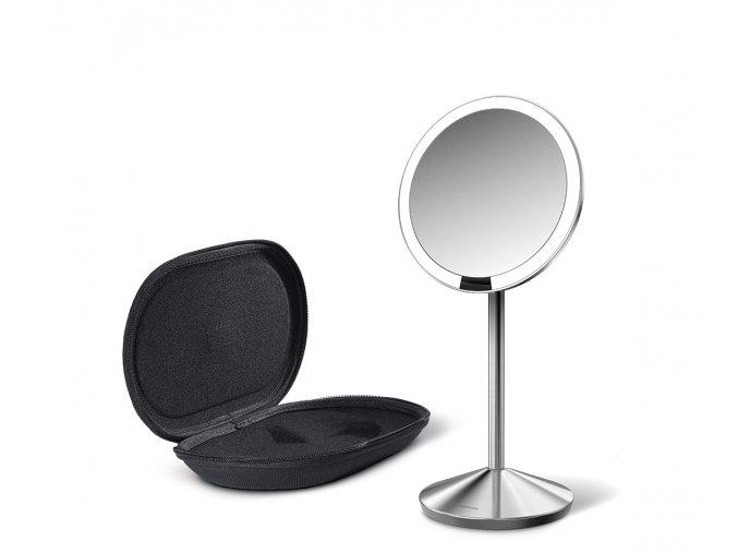 15233 2 kosmeticke zrcatko simplehuman sensor tru lux led osvetleni 10x zvetseni dobijeci