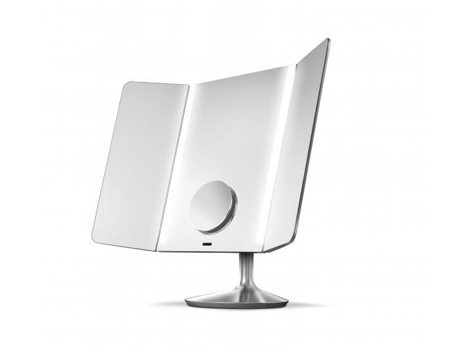 15749 kosmeticke zrcatko simplehuman wide view 1x 10x detail dobijeci wifi nerez ocel