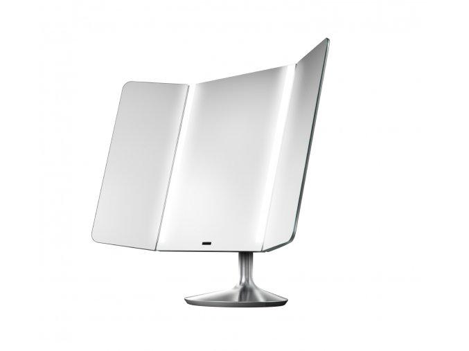 15566 kosmeticke zrcatko simplehuman wide view adaptabilni osvetleni dobijeci nerez ocel