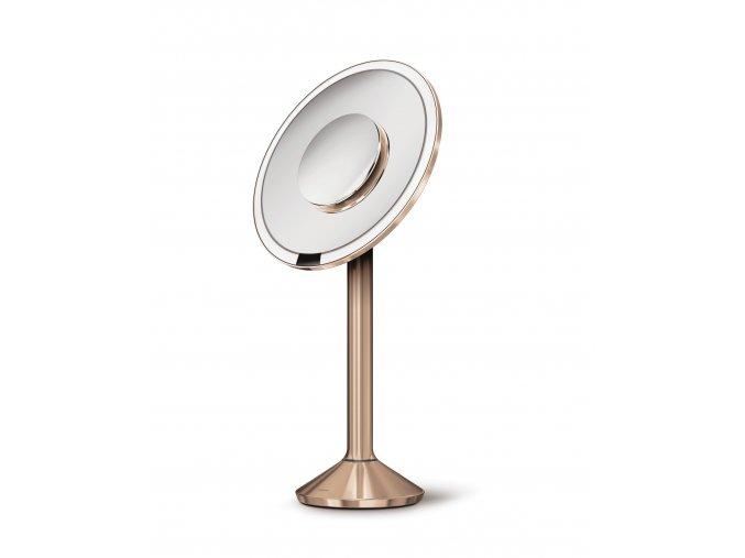 15746 kosmeticke zrcatko simplehuman sensor pro tru lux led 5 10x zvetseni aku wifi rose gold