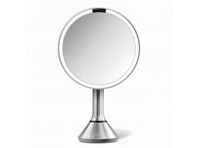 16517 kosmeticke zrcatko simplehuman sensor touch led osvetleni 5x dobijeci matna nerez