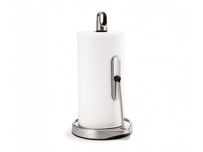 15146 drzak na kuchynske uterky s ramenem simplehuman pro role do 28 cm matna ocel