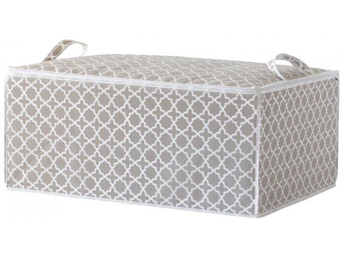 15704 textilni ulozny box na perinu compactor madison 50x70x30 cm