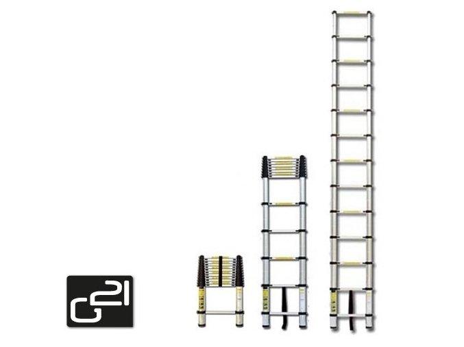 Teleskopický žebřík G21 GA-TZ7-2M