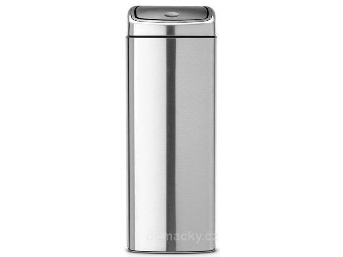 Koš Touch Bin 25L matná ocel otiskuvzdorná