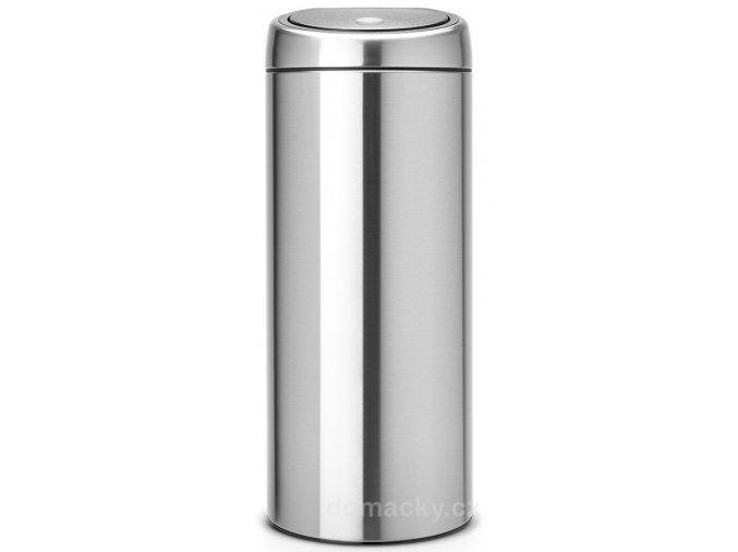 Koš Touch Bin 30L matná ocel otiskuvzdorná