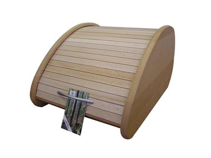 Chlebník dřevěný slza 300