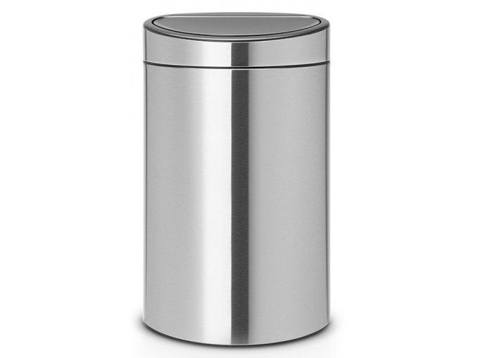 Twin Bin koš na tříděný odpad 10/23L matná ocel otiskuvzdorná