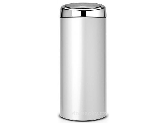 Koš Touch Bin 30L metalická šedá