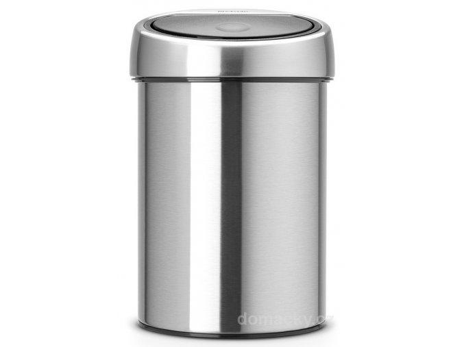 Koš Touch Bin 3L matná ocel otiskuvzdorná