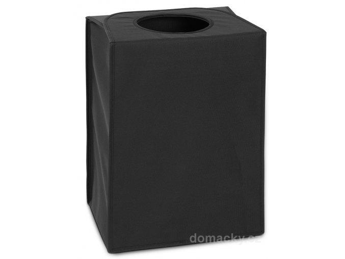 Taška na prádlo obdélník černá
