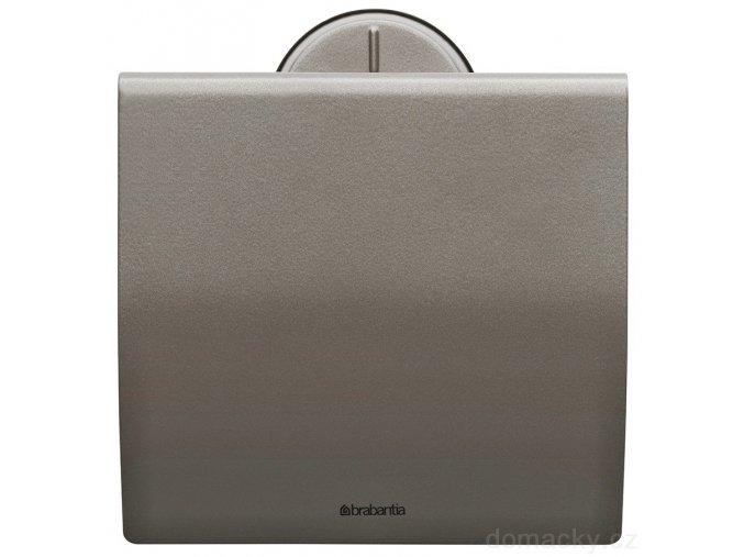 Držák toaletního papíru platinový