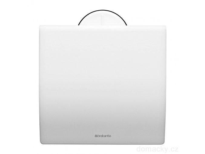 Držák toaletního papíru bílý