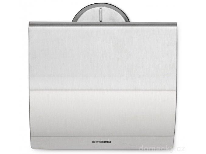 Držák toaletního papíru matná ocel