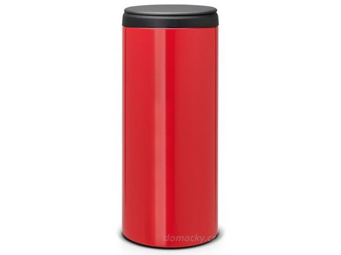 Flipbin 30L zářivě červená/tmavé víko