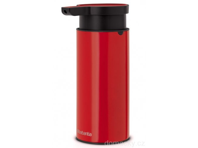 Dávkovač mýdla zářivě červená