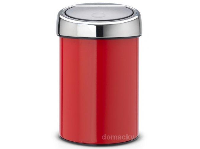 Koš Touch Bin 3L červená