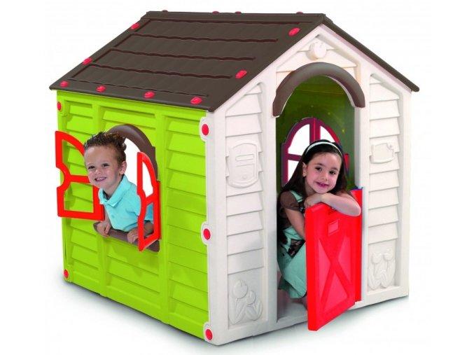 RANCHO PLAYHOUSE domeček - zelený