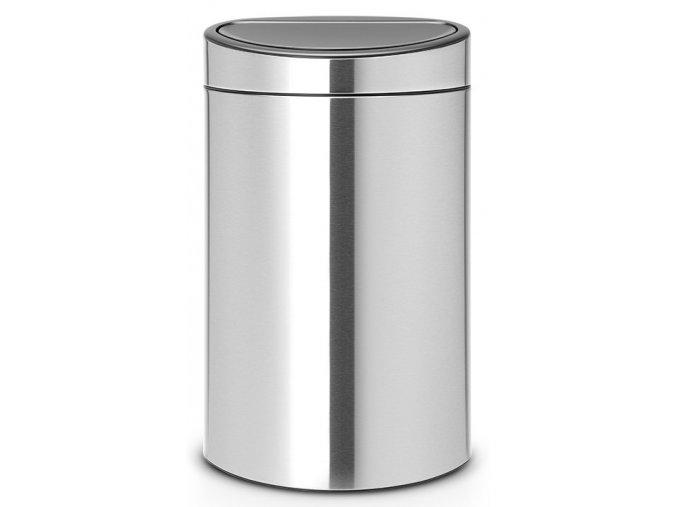 Touch Bin NEW 40L matná ocel otiskuvzdorná