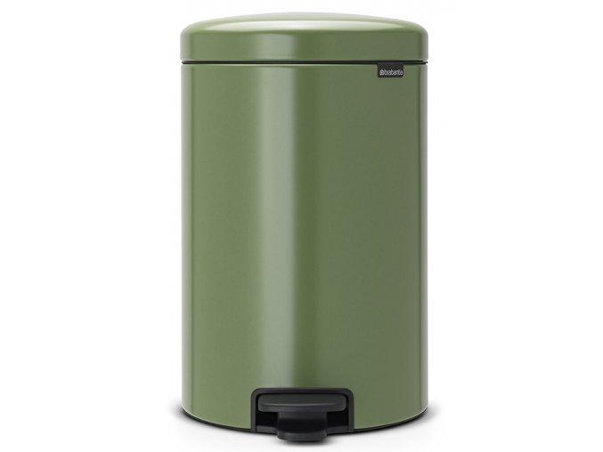 Pedálový koš NewIcon 20L zelená