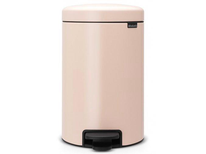 Pedálový koš NewIcon 12L růžová