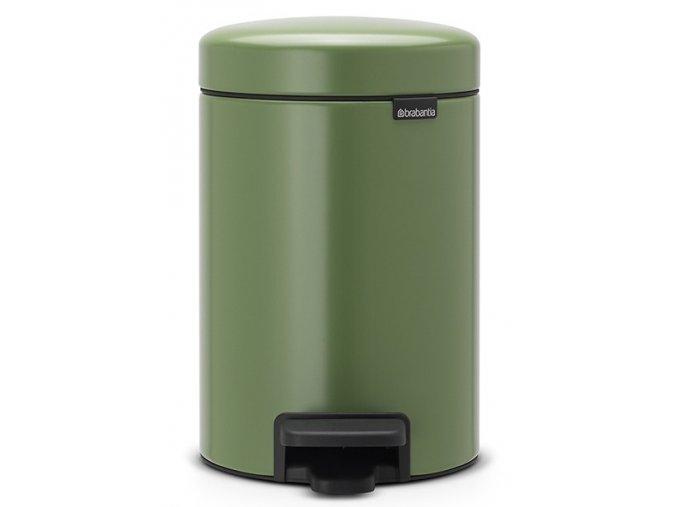 Pedálový koš NewIcon 3L mechově zelená