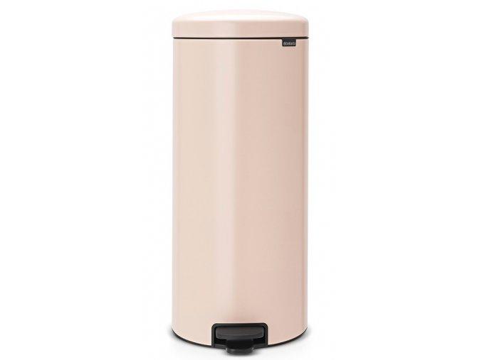 Pedálový koš NewIcon 30L růžová  + dárek vůně do koše