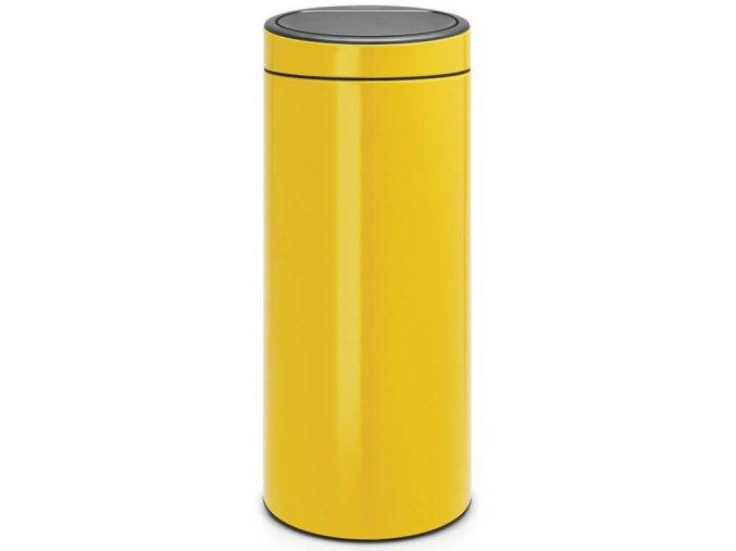 Touch Bin New 30L Daisy Yellow 8710755115240 Brabantia 1000x1000px 7 NR 10540