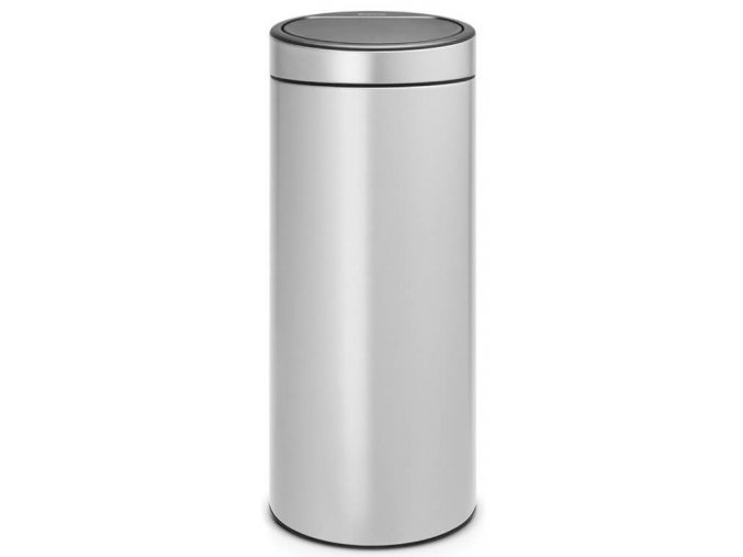 Touch Bin New 30L Metallic Grey 8710755115387 Brabantia 1000x1000px 7 NR 10548