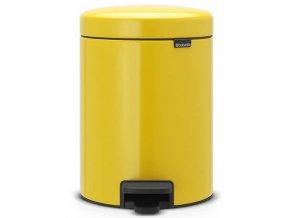 Pedálový koš NewIcon 5L žlutá