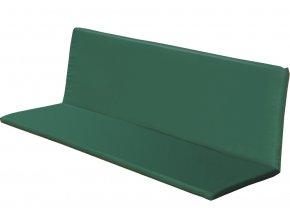 Potah na lavici zelený