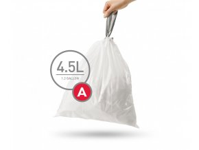 15071 sacky do odpadkoveho kose 4 5 l simplehuman typ a zatahovaci 30 ks v baleni