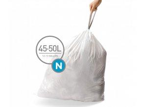 15104 sacky do odpadkoveho kose 45 50 l simplehuman typ n zatahovaci 20 ks v baleni