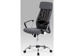Kancelářská židle KA-E302 GREY šedá
