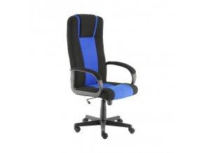 Kancelářské křeslo Artuš modro černý Alba