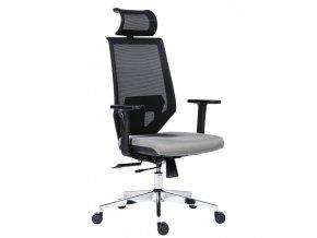Kancelářská židle EDGE šedá Antares