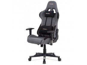 Kancelářská židle Autronic KA-F05 GREY
