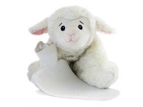 Dětský termofor Hugo Frosch Classic 3 v 1 s polštářkem – ovečka