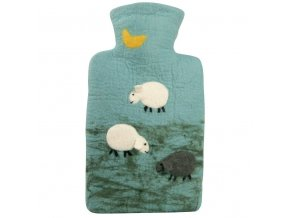 0705 9 termofor Hugo Frosch Classic plsteny obal 100 procent ovci vlna merino ovecky