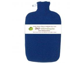 Termofor Hugo Frosch Eco Classic Comfort s modrým fleecovým obalem