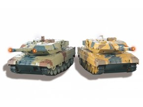 Jamara sada bojujících tanků Leopard II