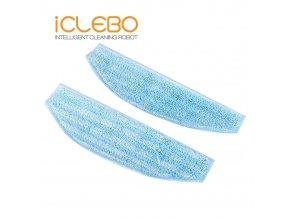 iClebo mop z mikrovlákna Arte (2ks)