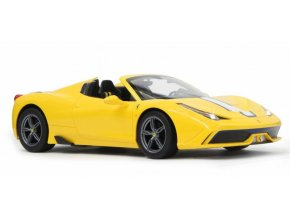 Ferrari 458 Speciale A 1:14 yellow conv. soft top