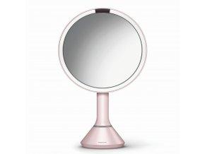 16505 kosmeticke zrcatko simplehuman sensor touch led osvetleni 5x dobijeci pink