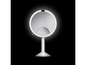 17129 kosmeticke zrcatko simplehuman sensor trio led osvetleni 1x 5x 10 dobijeci bila nerez