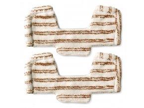 15284 2 ks navleku na drevene podlahy z mikrovlakna pro parni vysavace polti unico